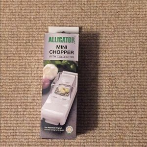 Alligator Mini Chopper With Collector Kitchen Tool